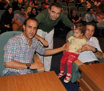 عکس های علی کریمی، علی پروین و دخترش در میهمانی لیلا بلوکات