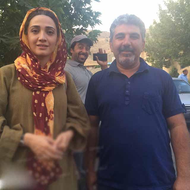 عکس های مینا ساداتی بازیگر سریال تنهایی لیلا