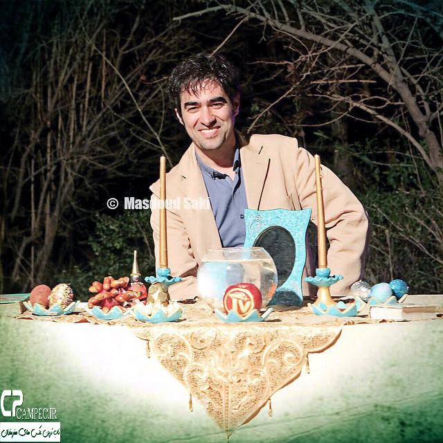 عکس جدید شهاب حسینی در نوروز94