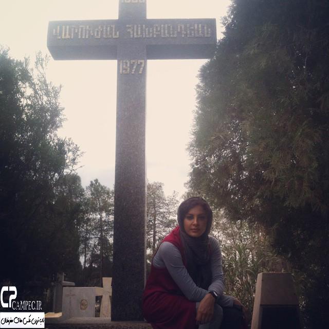 عکس جدید حدیثه تهرانی در فروردین94
