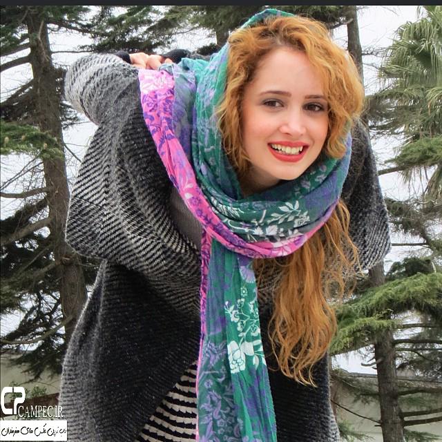 عکس جدید غزال وکیلی در فروردین94
