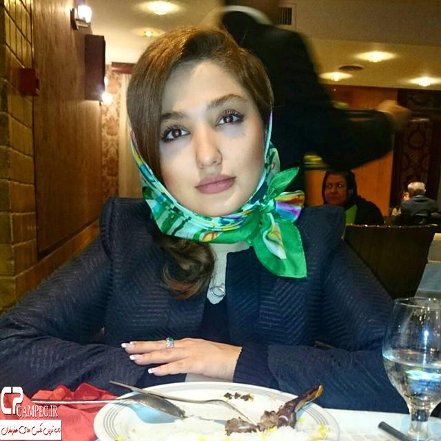 جدید ترین عکس  نازلی رجب پور در سال جدید