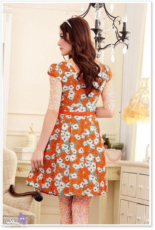 مدل لباس بهاره دخترانه شیک 2015,مدل لباس مجلسی کوتاه 94
