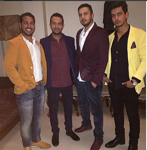 عکس خانوادگی مهرداد صدیقیان