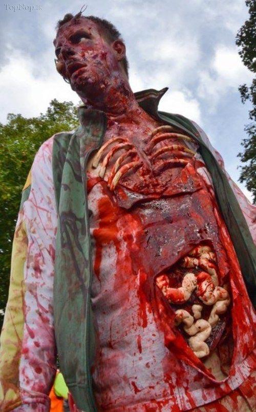 عکس ترسناک خارجی | عکسهای وحشتناک | عکس زامبی واقعی | عکس های مراسم زامبی | عکسهای فوق العاده وحشتناک | عکس جن | عکس موجودات ترسناک | عکس های ترسناک واقعی