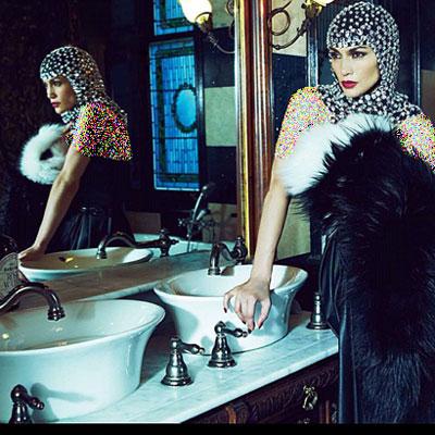 جدیدترین عکس های جنیفر لوپز,عکس جنیفر لوپز روی مجله HarpersBazaar