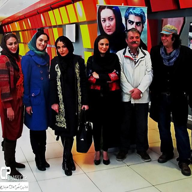لیندا کیانی در پردیس سینمایی کورش
