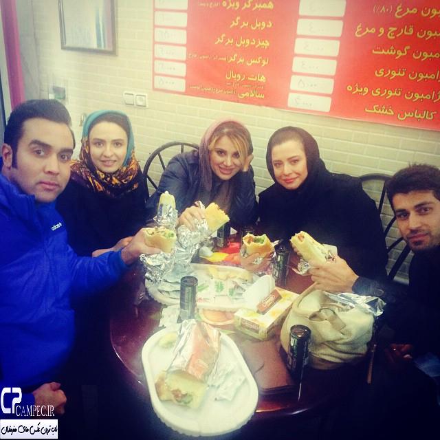 مهراوه شریفی نیا و گلاره عباسی