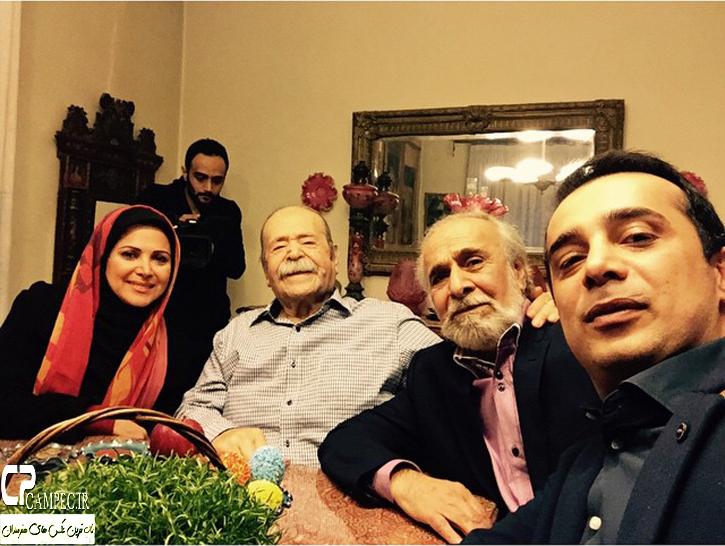 خانواده امیر سلیمانی و استاد محمد علی کشاورز