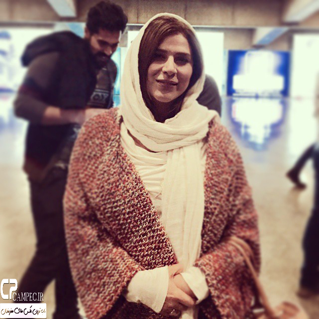 سحر دولتشاهی در اکران فیلم استراحت مطلق