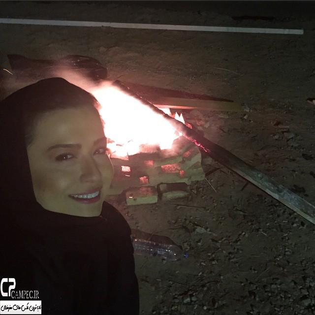 مهراوه شریفی نیا در شب چهارشنبه سوری