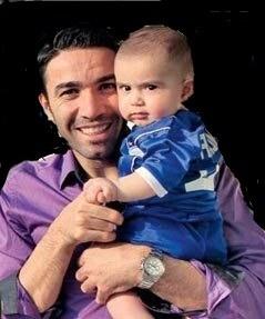 عکس بازیکنان معروف ایرانی | تصاویر فوتبالیست های معروف | عکس ستاره های فوتبال و خانواده آنها | عکس اعضای خانواده بازیکنان معروف فوتبال | عکس خانوادگی ستاره های معروف فوتبال