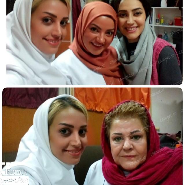 بازیگران زن سریال در حاشیه