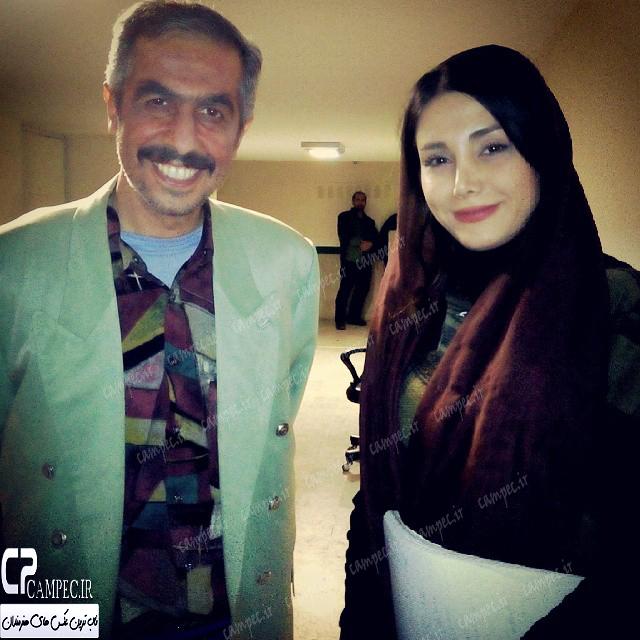 سید جواد رضویان در پشت صحنه سریال در حاشیه