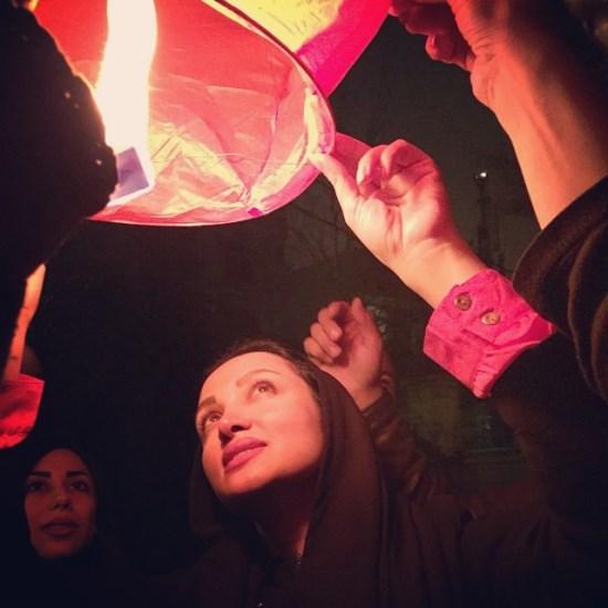 روناک یونسی در شب چهارشنبه سوری