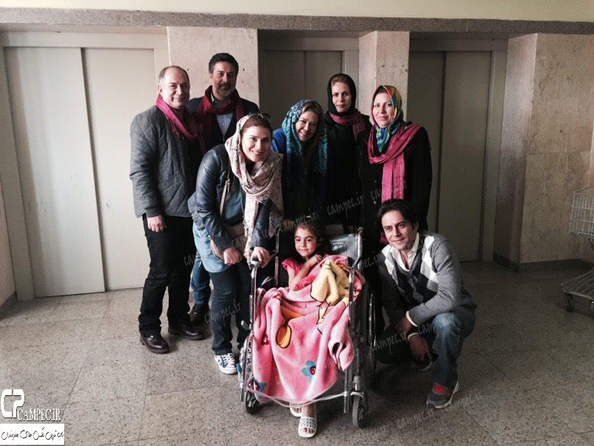 سحر دولتشاهی در بیمارستان طبی کودکان