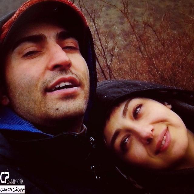 عکس جدید ویدا جوان و همسرش