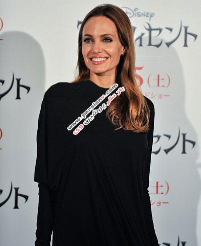 چهره جدید آنجلینا جولی با موهای روشن