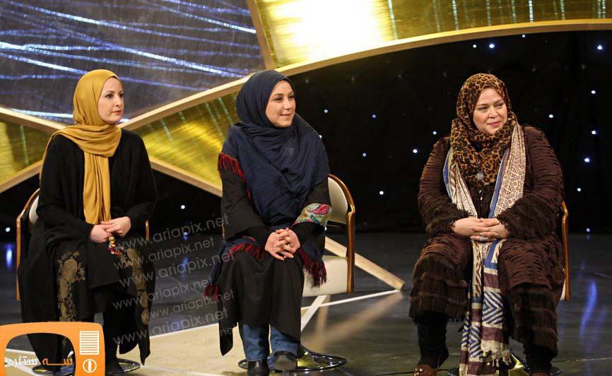 عکس بازیگران زن ایرانی در قسمت جهارم برنامه سه ستاره 92 | iranian actors