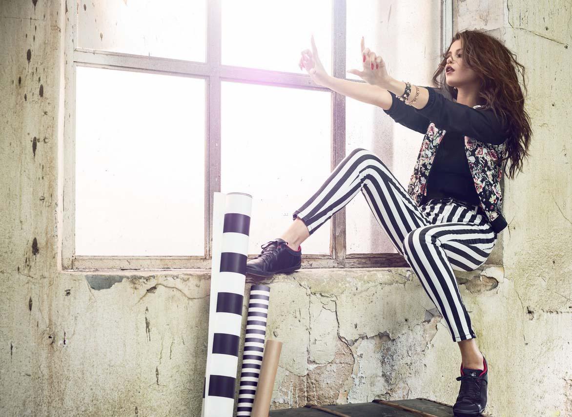 فتوشات های تبلیغاتی سلنا گومز برای آدیداس نئو Selena Gomez 2014 | foreign singer foreign actors