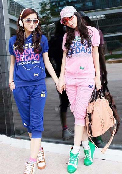 مدل تیپ اسپرت | مدلهای جدید تیپ اسپرت دخترانه | تیپ های جدید اسپرت دخترانه | مدل لباس اسپرت کره ای | لباس اسپرت کره ای | لباس اسپرت دخترانه کره ای | تیپ  اسپرت دخترانه 2014 | آریا فان | خرید اینترنتی لباس اسپرت دخترانه